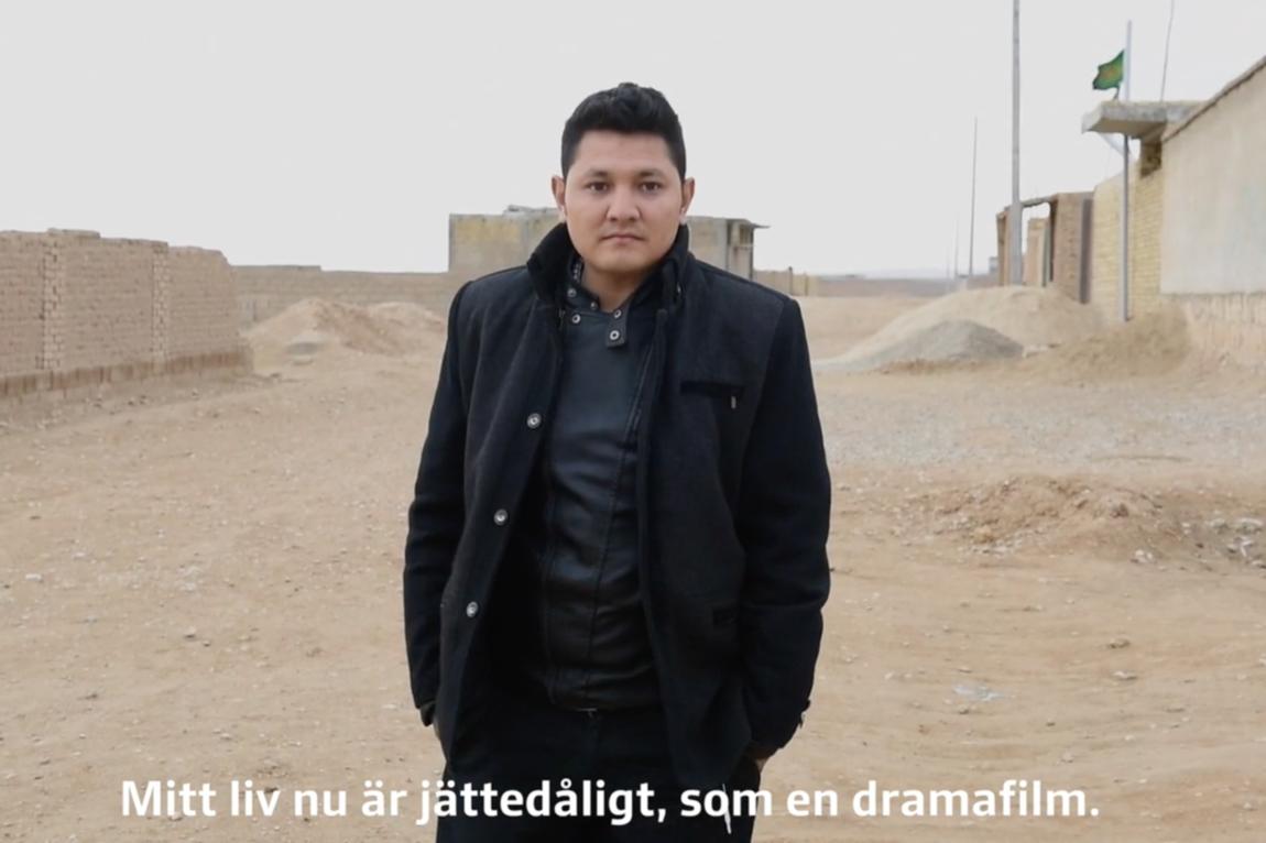 Malin Hoelstad - ¨Afghanistan är inte mitt land.¨