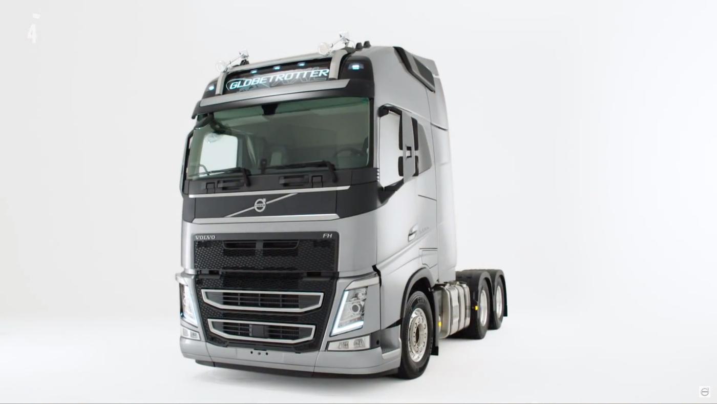 Alireza Badiee - Volvo Trucks - XXL long haul cab