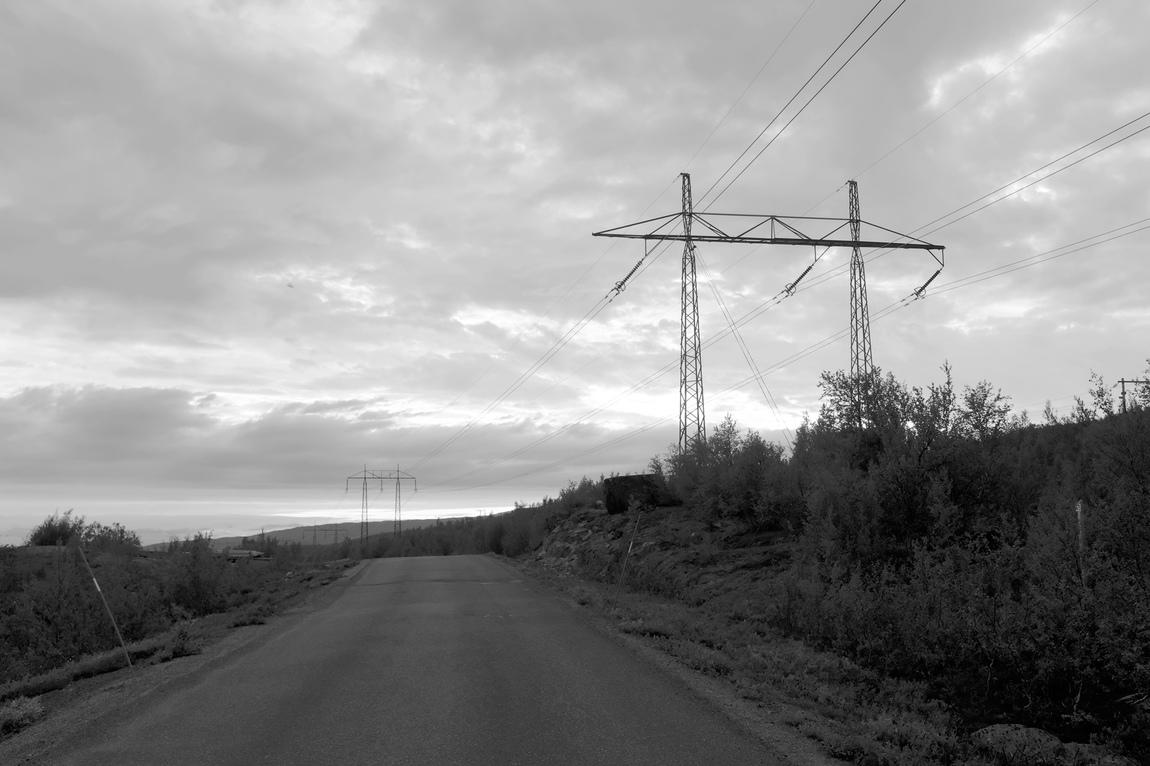 Erik Holmstedt - I ett vattenkraftslandskap