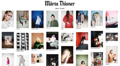 Märta Thisner on Find Creatives