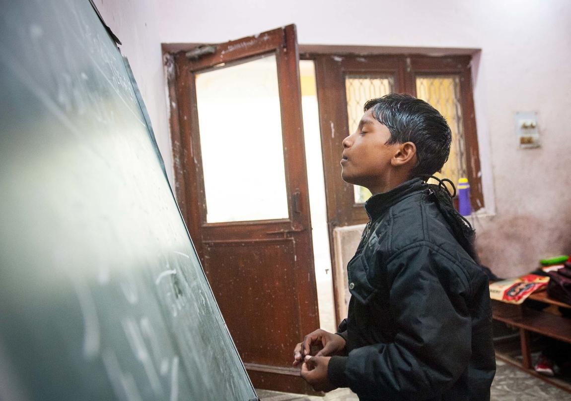 Cecilia Nordstrand - Swami balendu Primary School