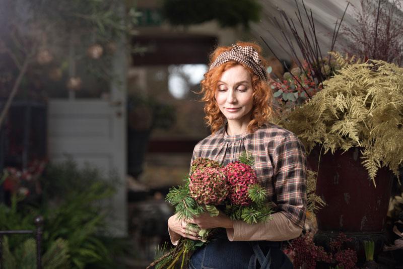Anne-Lie Ryde - Christmas campaign Flora Manufaktur