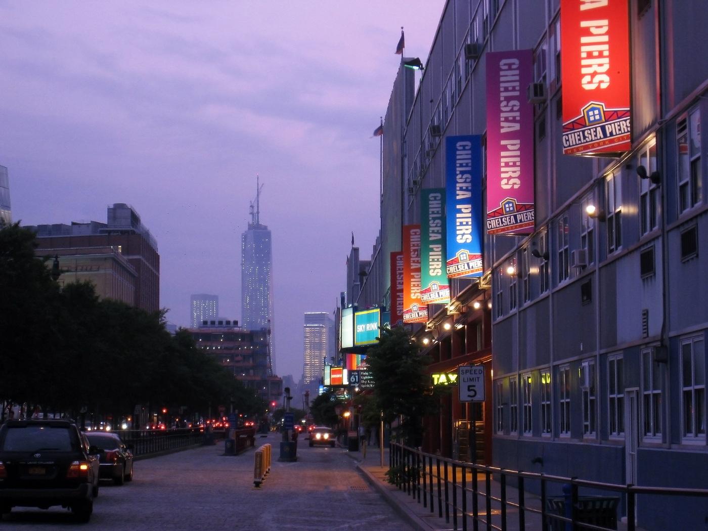 Yotvat Kariti - New York Street by Night
