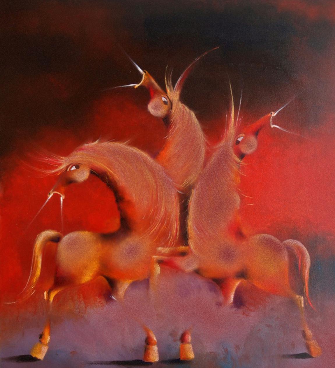 David Berkowitz Chicago - Three Wild Horses