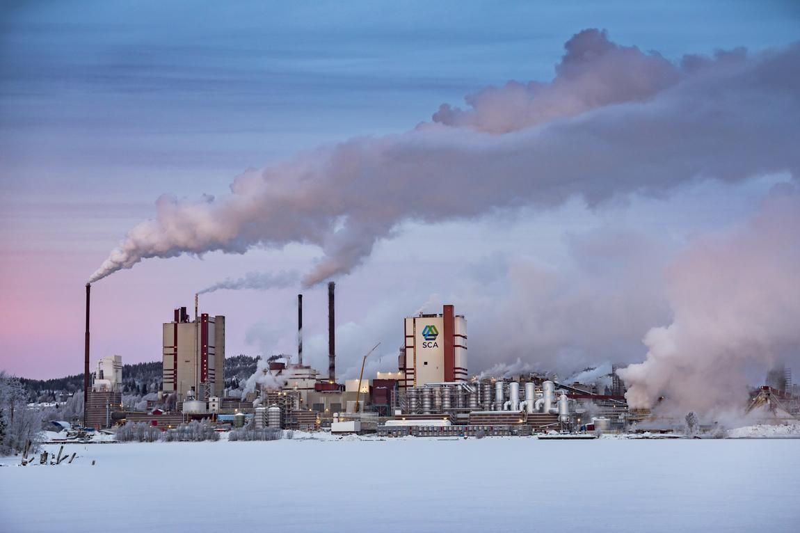 Michael Engman - Helios SCA Östrands massafabrik