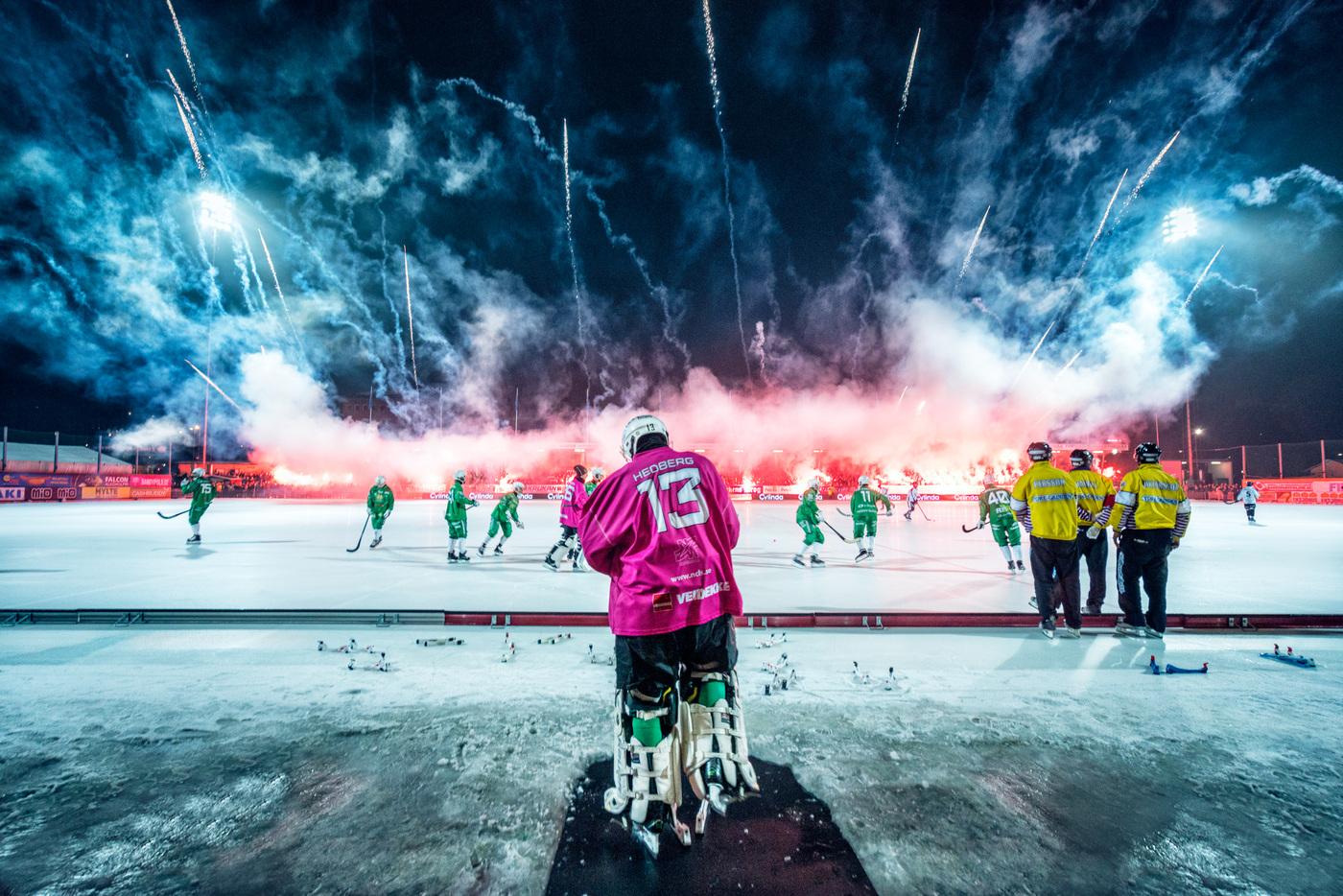 Romus Ramström - Årets Bandyfotograf 2018, 2019