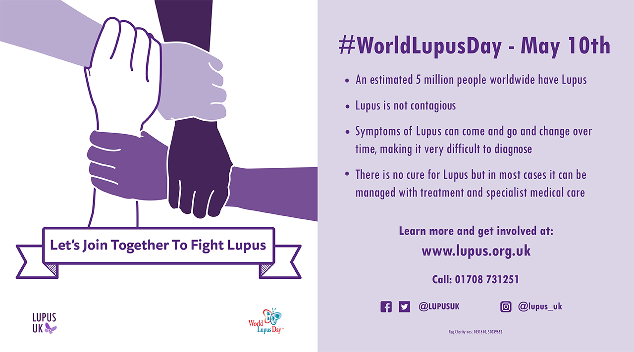 Emily Mead - World Lupus Day Campaign