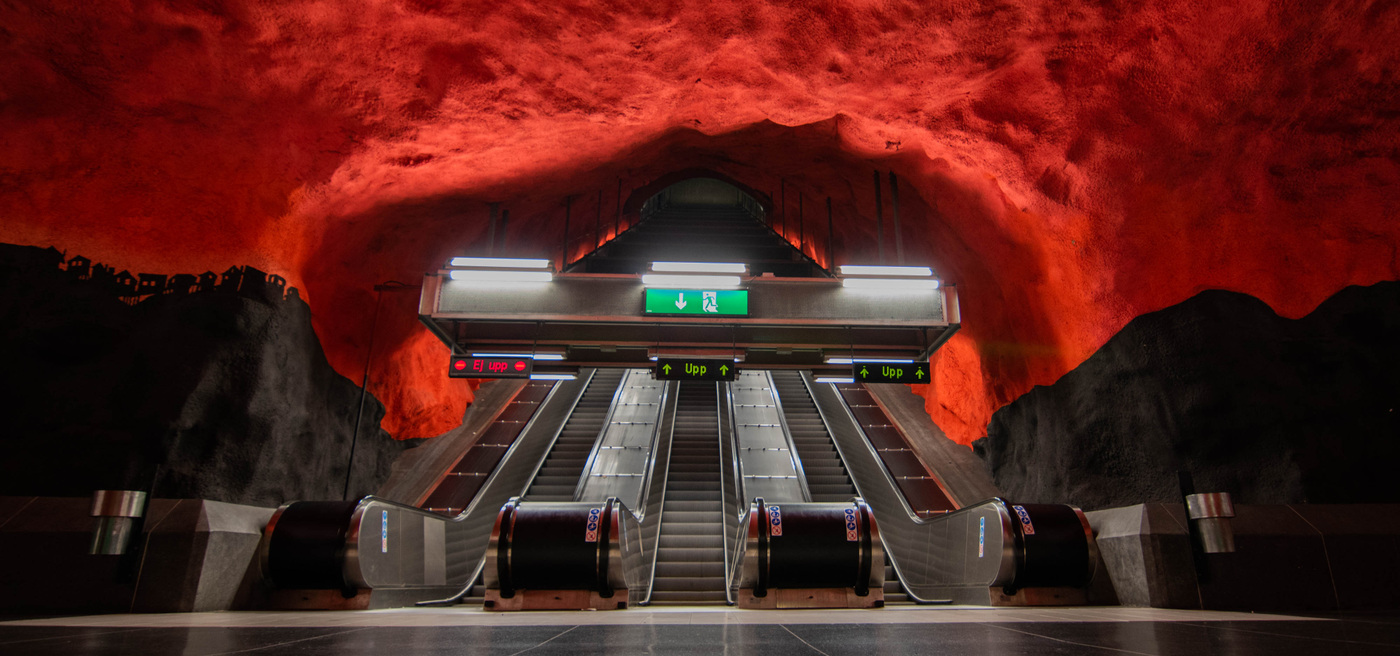 Harald Weidinger - Tunnelbanan