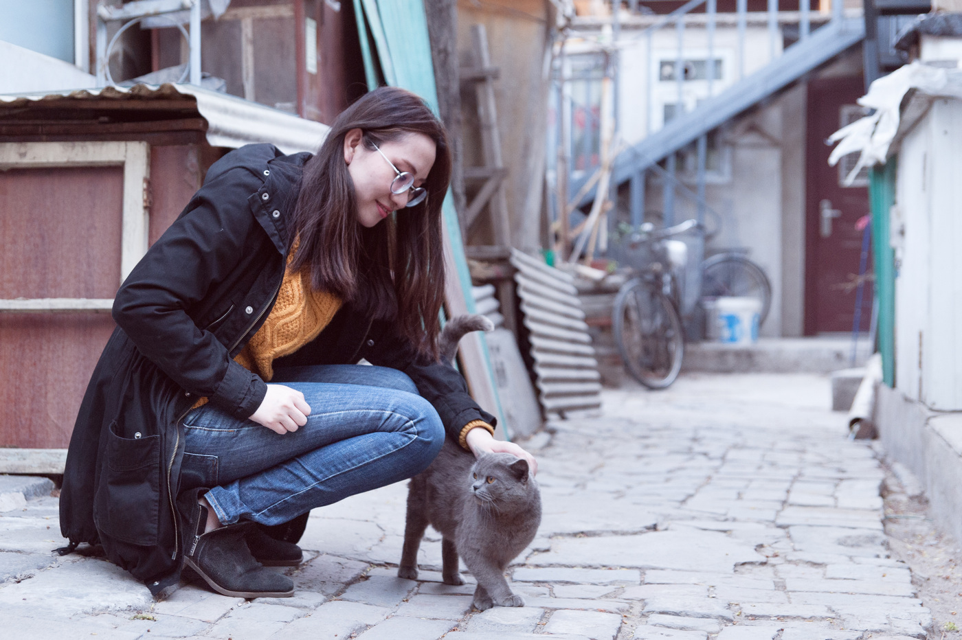 Sanna Kallioniemi - Arrangerad Streetstyle i Beijing