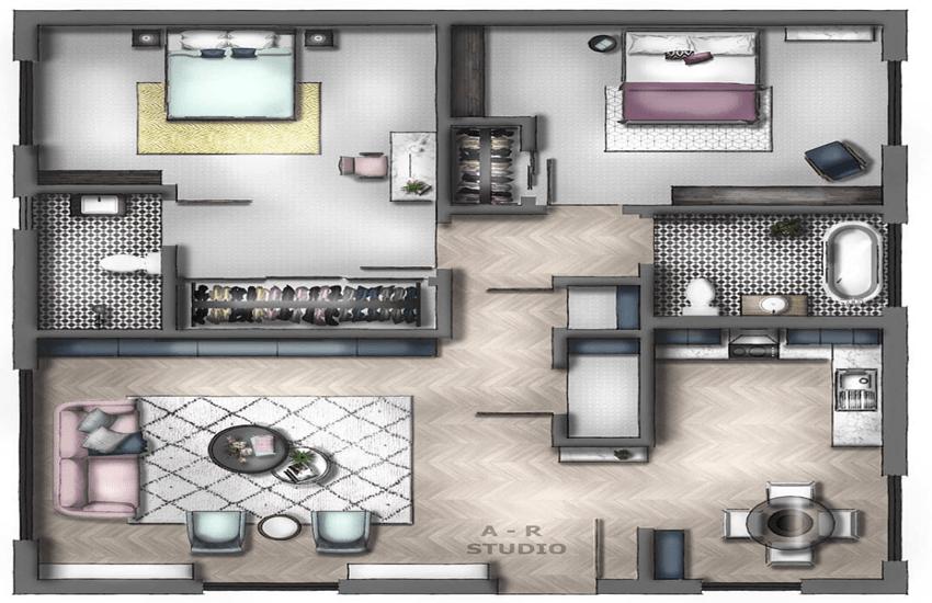 AR Studio - Best 2D Floor Plan Design studio