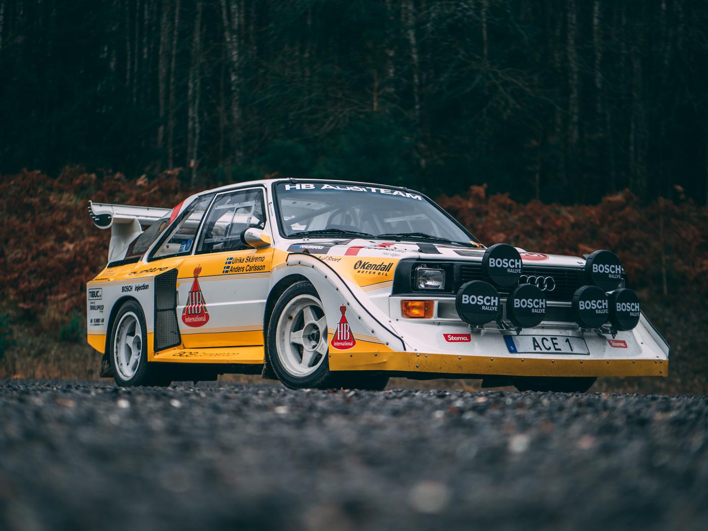 Mike Eriksson - AUDI sport s1 - ur quattro  S1 E2 - photoshoot.