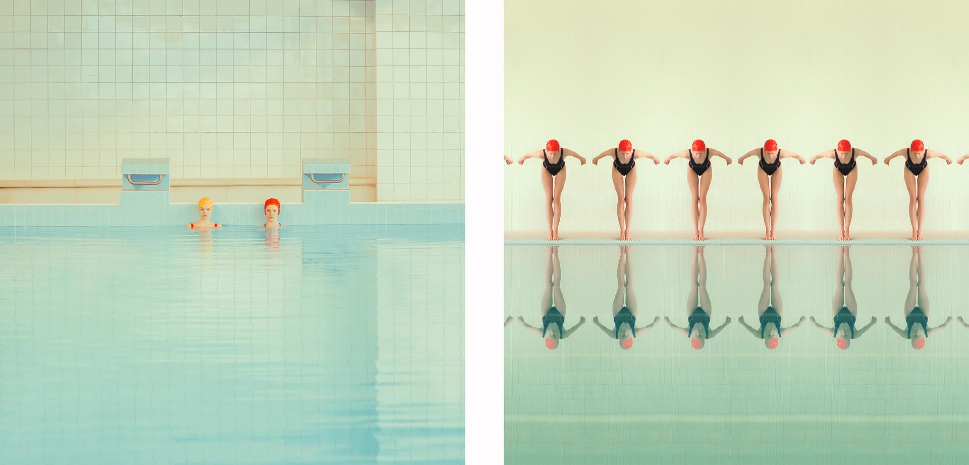 Swimming pool by Maria Svarbova